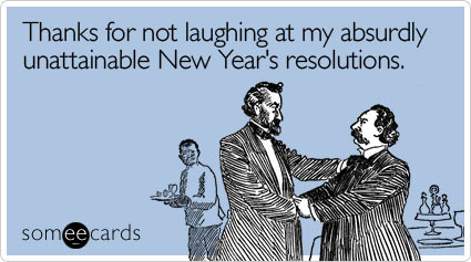 unattainable new years