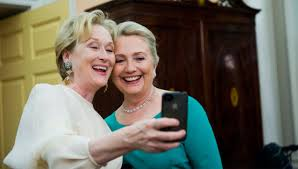 Streep and Clinton Selfie