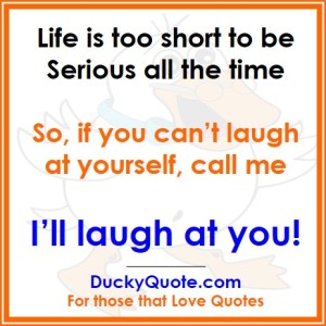 Laugh at Yourself